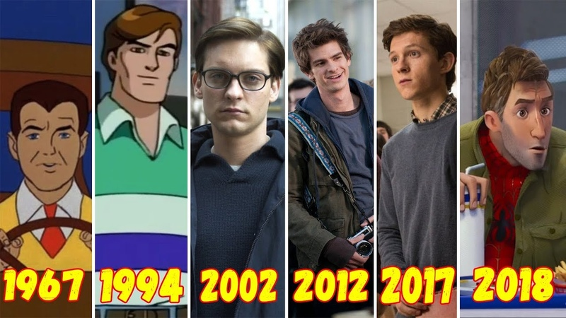 Эволюция Питера Паркера (1967-2018)