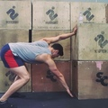 Functional Movement Hacks on Instagram #flexionfriday a great drill to get into those tight shoulders adapted from the #gandalf by James @imfitlo...