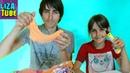 ЧЕЛЛЕНДЖ 3D РУЧКА против Кинетического ПЛАСТИЛИНА Рома и Лиза делают наших ПИТОМЦЕВ LizaTube