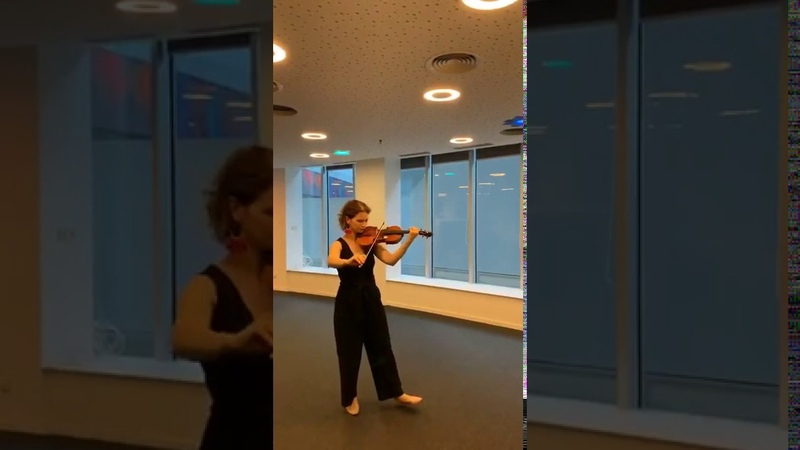 HILARY HAHN plays Chausson - Poème