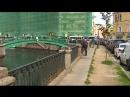 Узкая набережная Канала Грибоедова