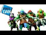 Teenage Mutant Ninja Turtles 2014 Movie 11 Inch Figures Video Review