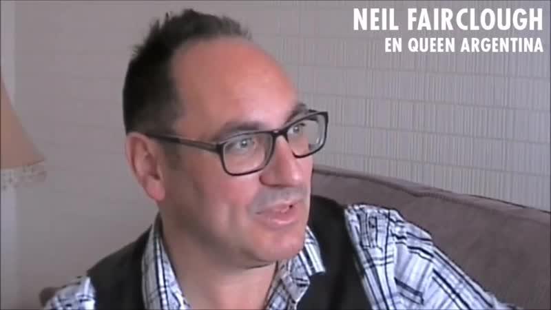Neil Fairclough talking about Adam Lambert