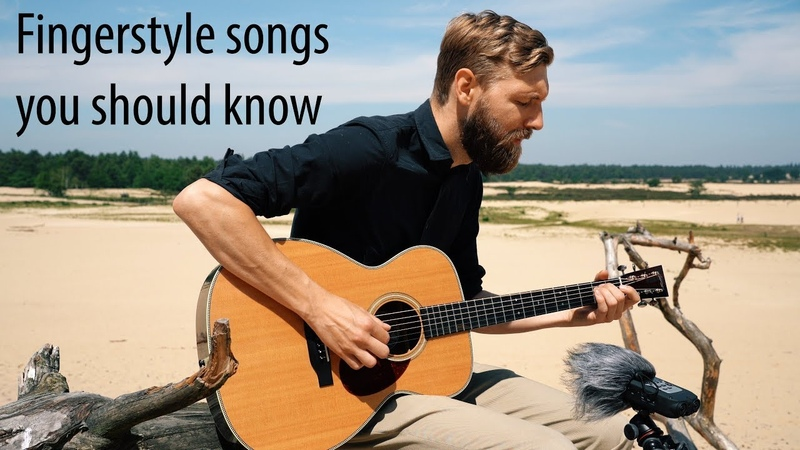 3 Amazing FolkBlues Fingerstyle Songs For Guitar!