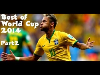 Neymar - World Cup 2014 - Best Skills & Goals - Pt.2