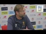 Jurgen Klopp about skipper