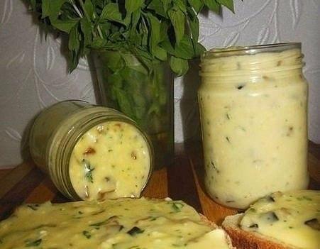 Домашний плавленый сыр с шампиньонами - нереальная вкуснятина/