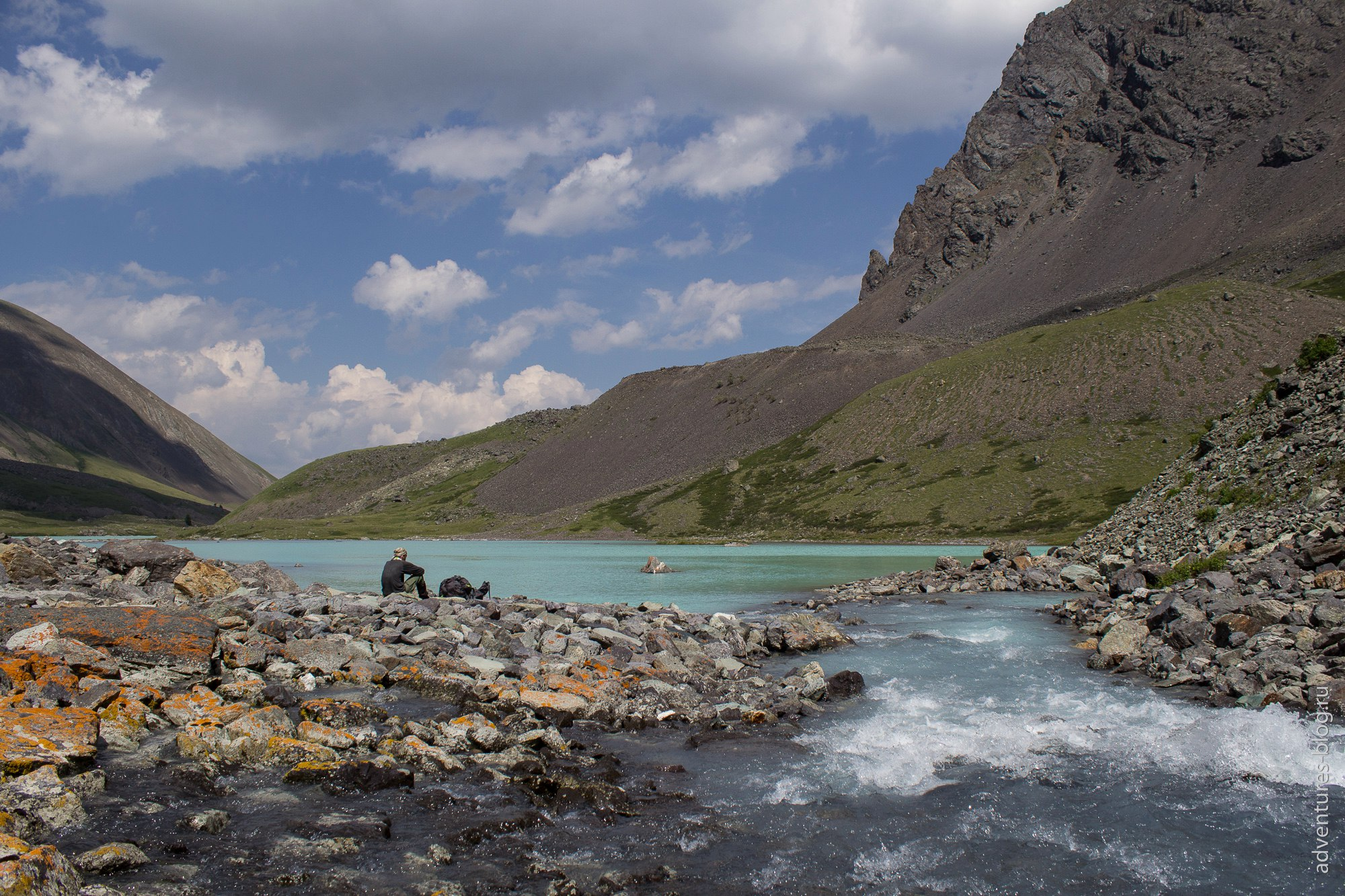 На третьем озере, Каракабак