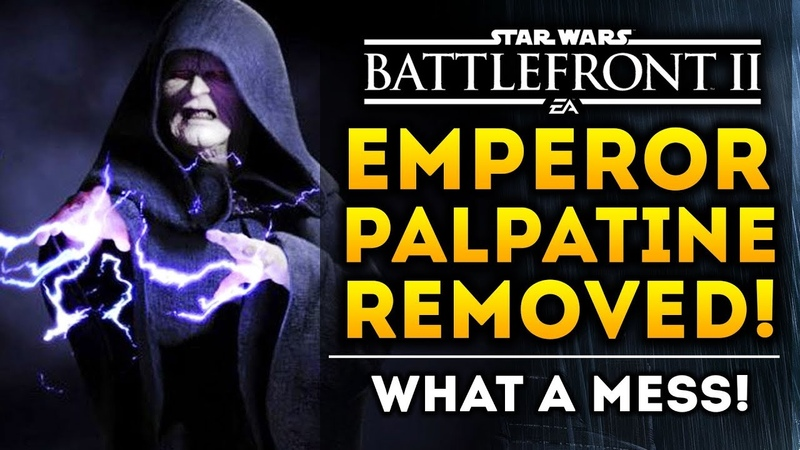 Emperor Palpatine Removed! Lightsaber Combat Changes! Star Wars Battlefront 2! What A Mess!