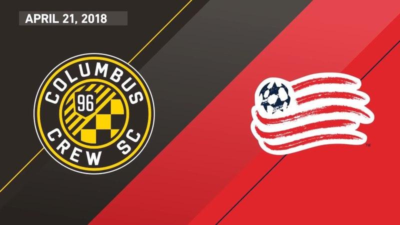 HIGHLIGHTS: Columbus Crew SC vs. New England Revolution | April 21, 2018