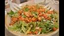 Romaine Salad with Kiwi Roasted Cauliflower Cilantro Lime Vinaigrette: Cooking with Kimberly