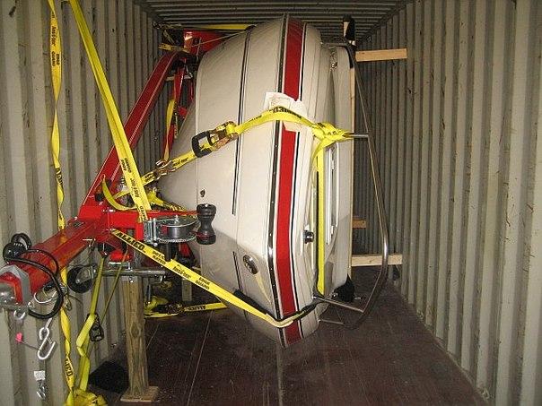 Доставка лодок из Америки