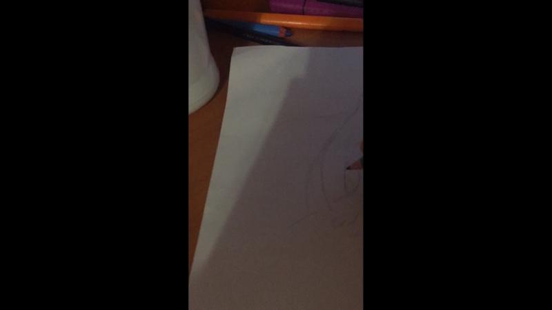 Рисую с интерната картинку .А вы умеете рисовать??
