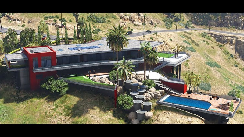 GTA 5 mod Devin Weston Mansion