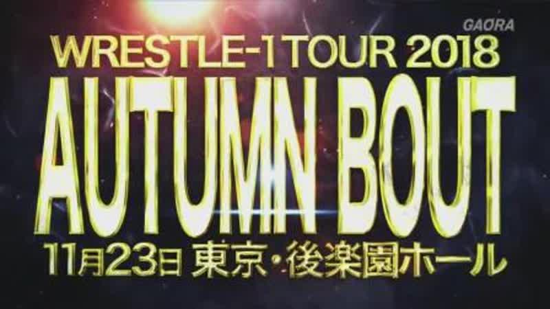 WRESTLE-1 Tour 2018: Autumn Bout (2018.11.23) - День 4