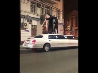 Резиновая Зина на Лимузине в Краснодаре..