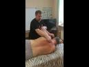 Шведский массаж 11. Пример работы с межлопаточной группой мышц