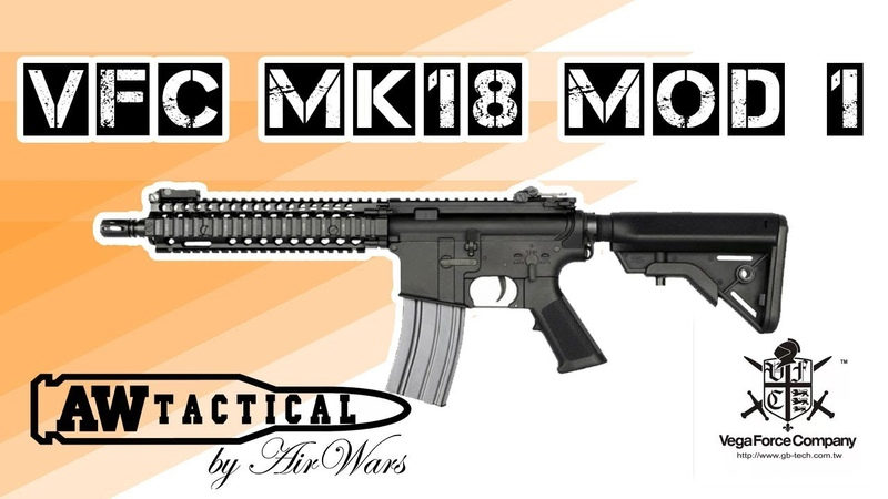 Страйкбольный автомат VFC MK18 MOD 1 AEG (airsoft) VF1-LMK18M1-BK01