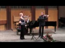 W.A.Mozart Kegelstatt Trio, E flat Major for Piano, Violine and Viola. K. 498, Rondo