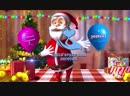 Вариант Новогодней видео открытки. Оригинальное поздравление).