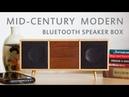 Making A Mid-Century Modern Bluetooth Speaker Box