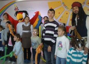 В Таганроге детям-инвалидам показали сказку