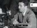 1947 Walt Disney Testifies at HUAC