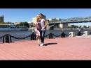 Кизомба в Москве. Артем Левин и Александра Сирото