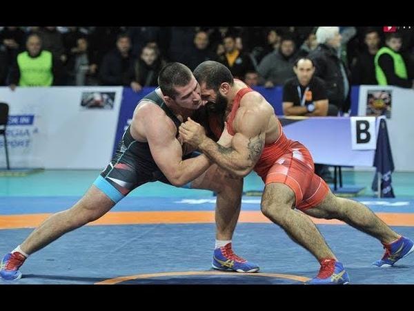 Georgian Greco-roman Wrestilng Championships Highlights 2018