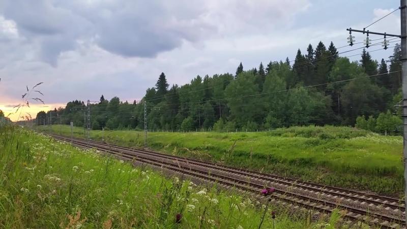 Russian high-speed train - Российские скоростные поезда.mp4