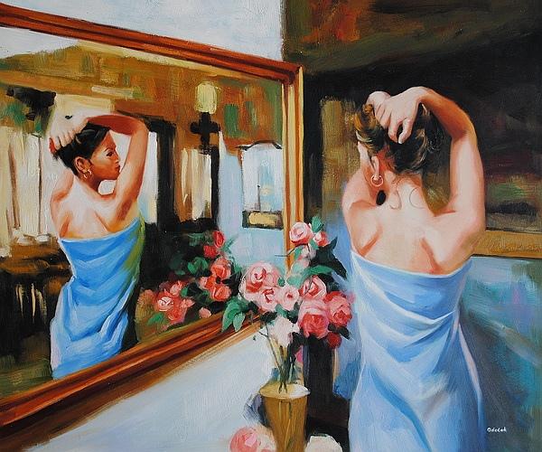 Уберите наклейки с надписью «Я хочу тебе нравиться» с Вашего лба, и разместите их там, где они действительно принесут пользу – на Ваше зеркало.