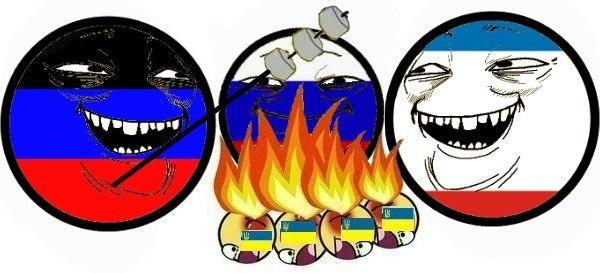 Итить твою мать, проголосуй с нами! Референдум на Донбассе в ФОТОжабах. - Цензор.НЕТ 7613