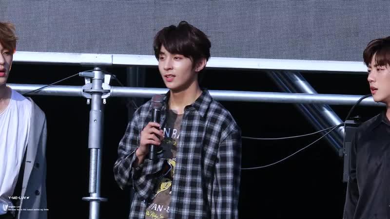 [YMELUV] 190615 Y - Talking Damdadi 2019 K-Pop Artist Festival