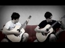 Rock N' Roll Racing on Acoustic Guitar by GuitarGamer & Fabio Lima