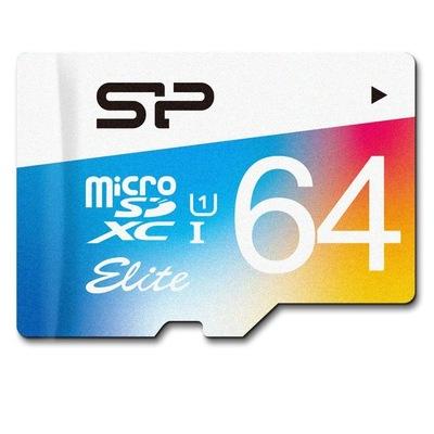 Карта памяти SD Micro 64Гб Class10 Silicon Power