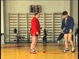 Переход на рычаг локтя с выбиванием ноги.
