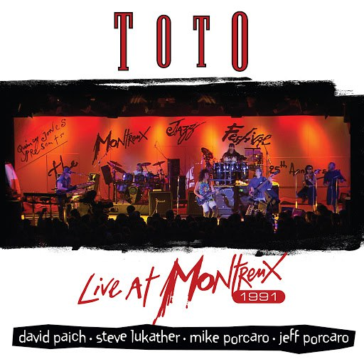 Toto альбом Live At Montreux 1991