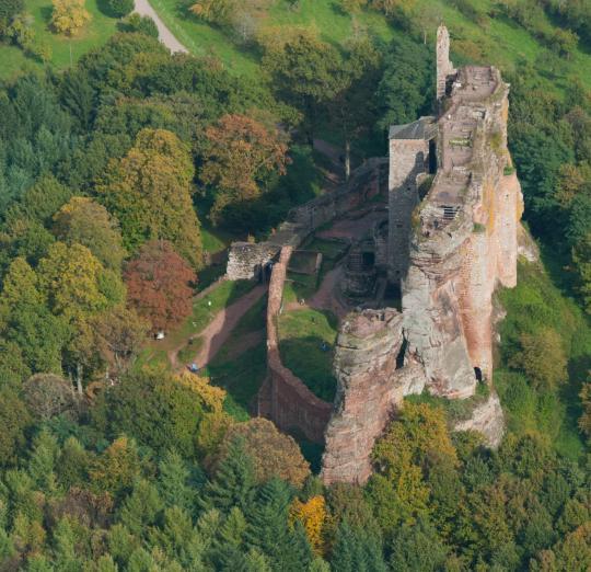 замок Флекенштейн (Франция)