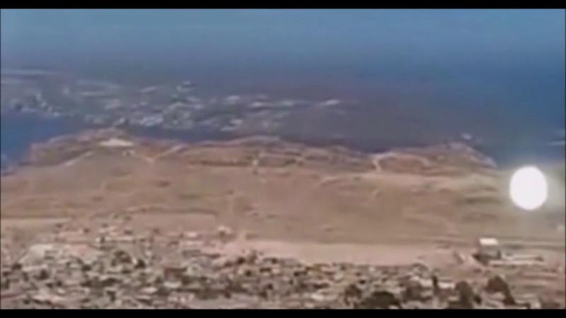 Видео НЛО в Чили. Видео очевидцев НЛО. Видео было снято на смотровой площадке в Чили.