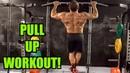 Intense Tabata Pull Up Bar Workout (HIIT)