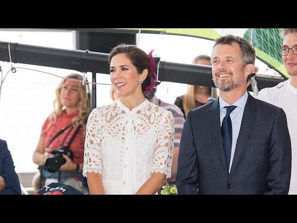 Kronprins Frederik i tårer i Aarhus