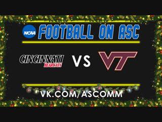 Military Bowl | Cincinnati VS Virginia Tech