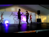 Мастер-класс от Adonis Baez (Cuba) Olga Nebolsina (Russia) (salsa cubana)