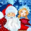 Добрые Дед Мороз и Снегурочка. Саратов
