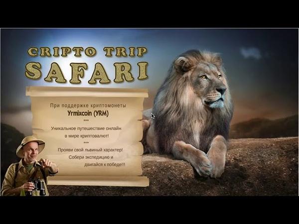 Маркетинг LION SAFARI CRIPTO TRIP