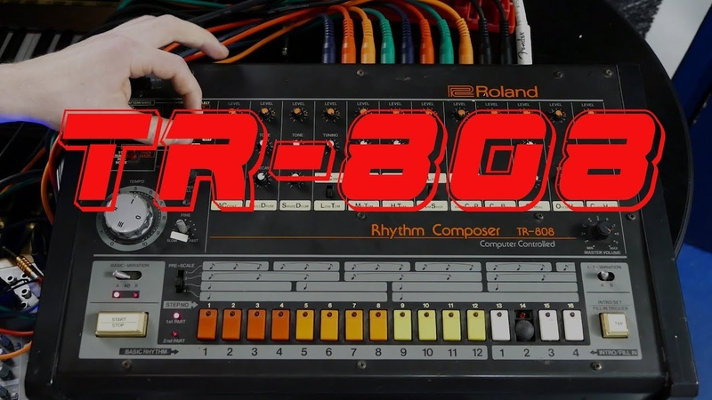 TR 808 Grooves RAW