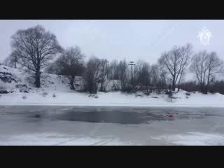 Семья погибла в ушедшей под лёд Ниве