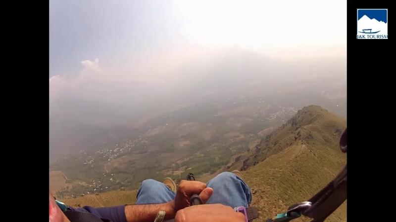 Параглайдинг в Кашмире.Индия