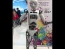 Робот Робби передаёт пламенный привет Дагестану