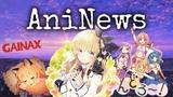 AniNews 6 новости аниме - Новые анонсы студии Gainax и романтика...